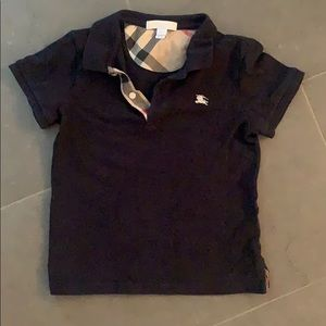 Boys Burberry Polo Shirt